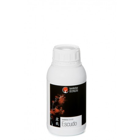 Escudo Lombrico bonsai 500 ml, abono para bonsai